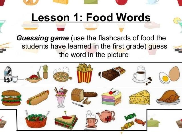 Esl food lesson 1 food forumfinder Choice Image