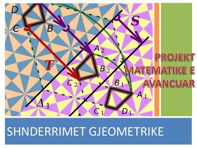 SHNDERRIMET GJEOMETRIKE