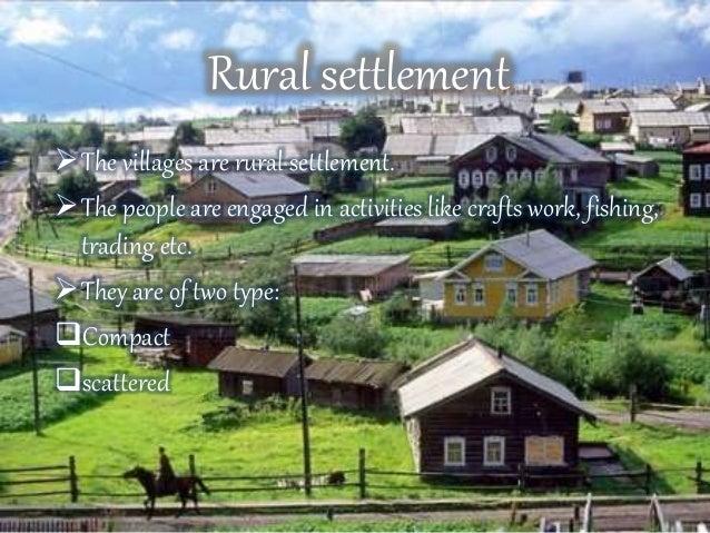 Human settlement transport and communication