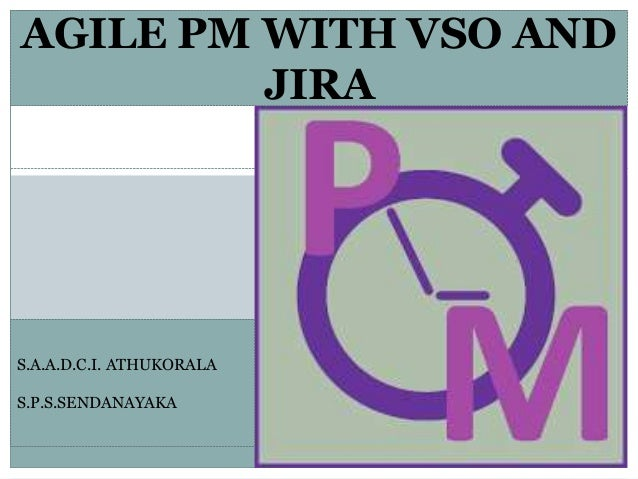 AGILE PM WITH VSO AND JIRA S.A.A.D.C.I. ATHUKORALA S.P.S.SENDANAYAKA