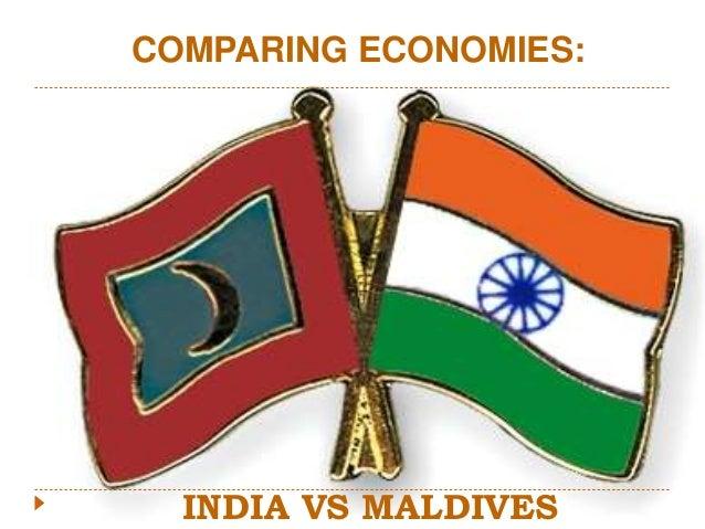 INDIA VS MALDIVES COMPARING ECONOMIES: