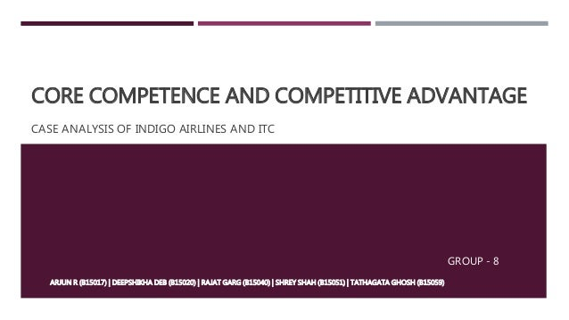 core competence and competitive advantage
