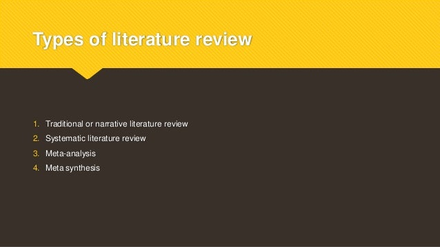How to Write a Literature Review - University of Idaho