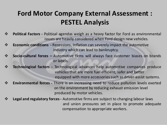 business analysis of ford motors company Ford strategic management analysis  current strategy ford's business strategy is  that the company survives continuously ford motors also created.