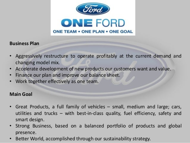 ford strategic management Human resource management is one of the pillars on which stands the foundation of any and every organization it deals with various aspects of organizational structure and looks into several organizational policies thereby playing a vital role in strategic planning of an organization though human .