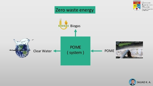 SUSTAINABLE APPROACH OF RECYCLING PALM OIL MILL EFFLUENTUSING INTEGRATED BIOFILM MEMBRANE FILTRATION SYSTEM FORINTERNAL PLANT USAGE Slide 3