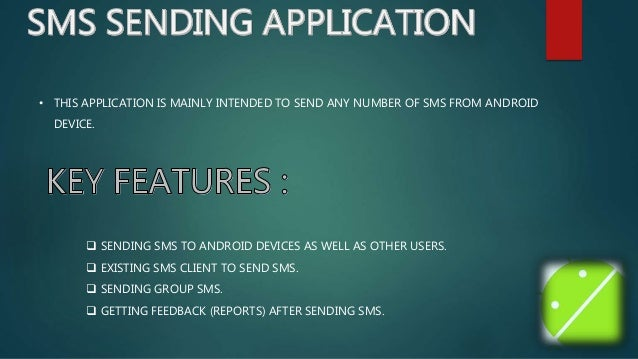 Android Sms and Email Sending