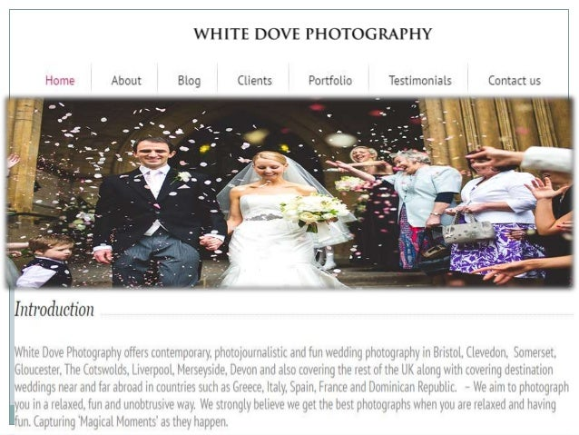 White Dove Photography Is Well Known Weeding And Commercial In Bristol Photographers Your Wedding
