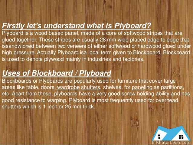 Block Board For Wardrobes ~ Playwood