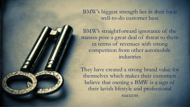 bmw s sales slipped during the worldwide recession in 2008 and 2009 is its segmentation strategy too Bmw's sales slipped during the worldwide recession in 2008 and 2009 is its segmentation strategy too selective why or why not.