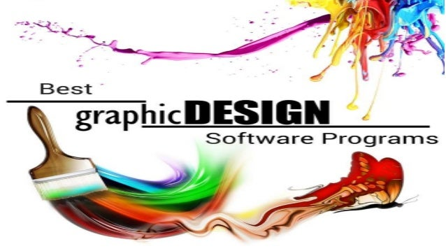 Best graphic design software programs for Good art software