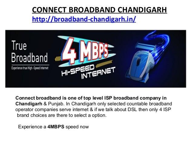 BROADBAND CONNECTION CHANDIGARH Slide 2