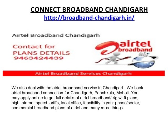 BROADBAND CONNECTION CHANDIGARH Slide 3