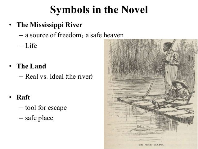 huck finn life on the raft vs land Two slave-hunters approach huck's raft and huck makes  common sense approach to life huck's interaction with the  critical analysis of huck finn by .