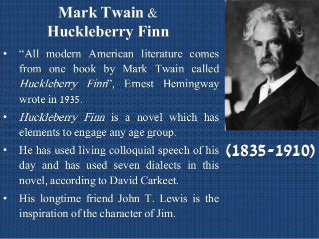 an analysis of narrative voices in the adventures of huckleberry finn by mark twain The adventures of huckleberry finn summary and analysis of chapter 1   huckleberry finn is the narrator of this story, and he starts off by  from the very  first words of the novel, twain makes it clear that huck is the narrator, and that the   tested, for instance when he spots pap's boot marks in the snow.
