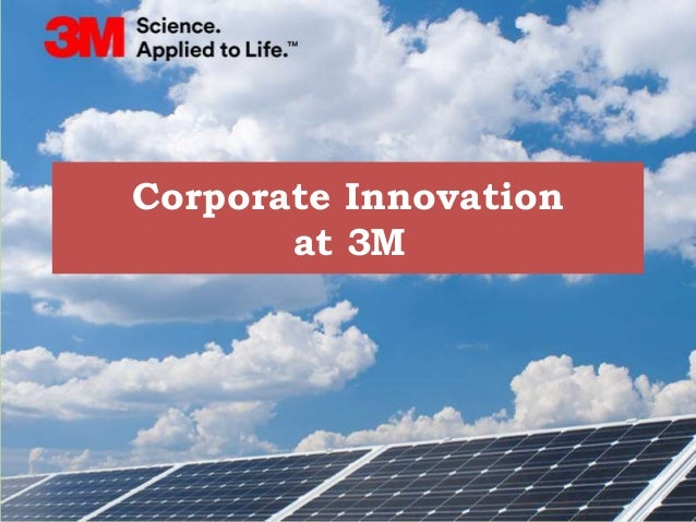 3M: Profile of an Innovating Company Essay Sample