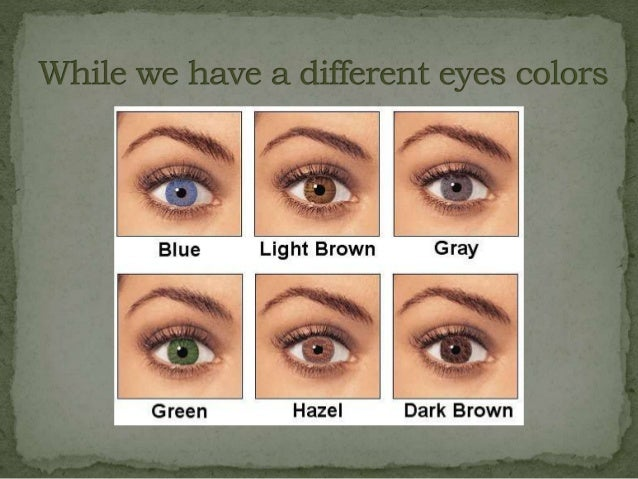 green eyed people