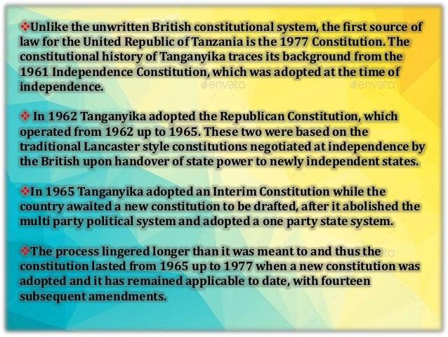 SOURCES OF LABOUR LAW IN TANZANIA PDF