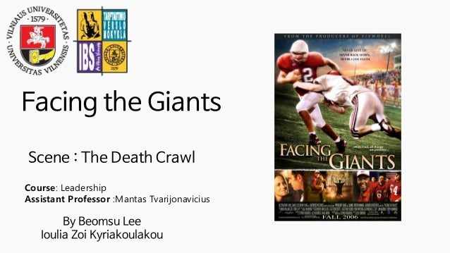 facing the giants moral lesson