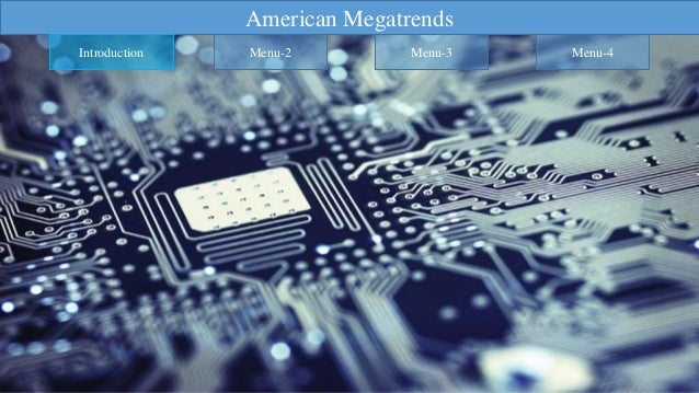 DRIVERS: AMERICAN MEGATRENDS ENTERPRISE III