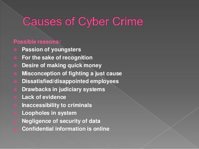 solution of cyber crime