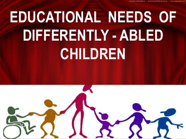 essay disabled differently abled There were sharers who introduced about the background of a differently-abled disabled people are still struggling for the right to use public transport, get into buildings, go to school or college with their friends, or to get a job.