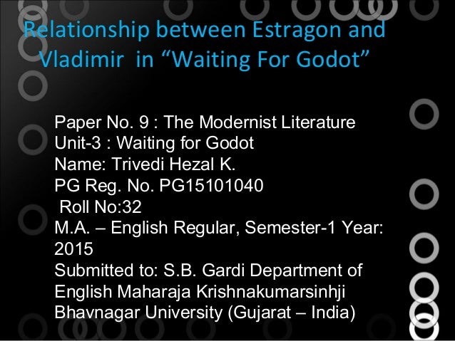 relationship of estragon and vladimir in waiting for godot summary
