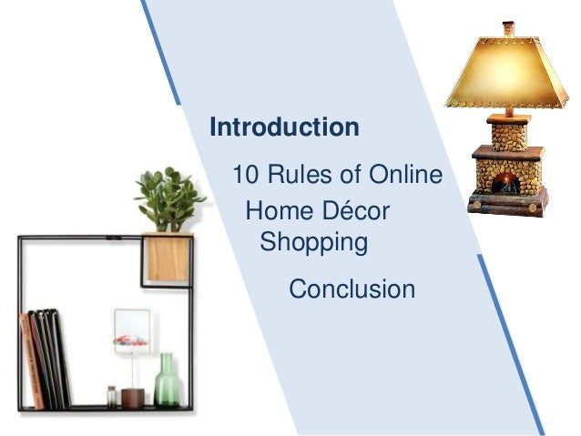 10 rules of online home decor shopping for Best online shopping for home decor