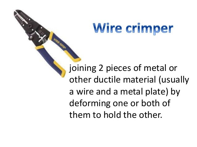 ELECTRICAL TOOLS AND EQUIPMENT