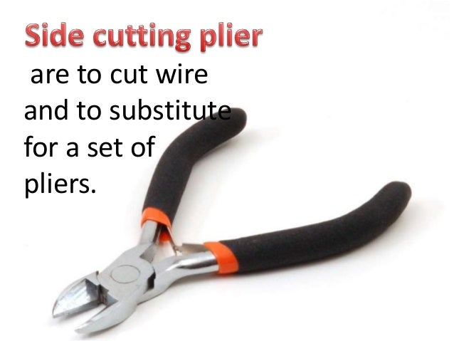 electrical tools and equipment rh slideshare net wiring tools and equipment wiring tools ppt