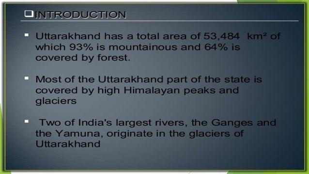 uttarakhand flood case study pdf