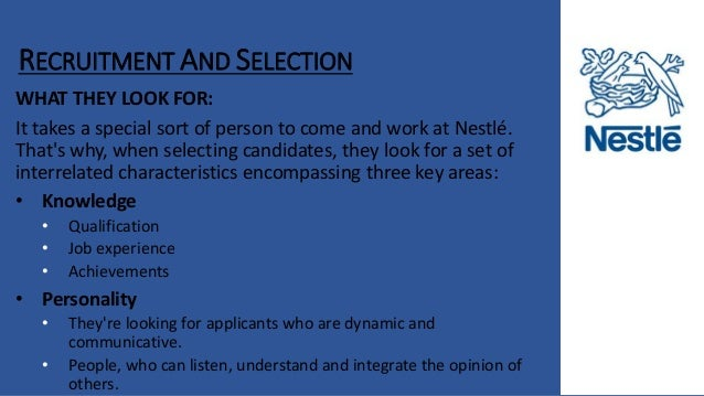 Nestle Hrm And Swot Analysis