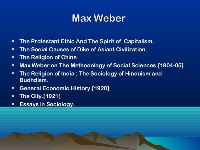 weber collected essays on the sociology of religion (9781891487439) by max weber masterful prefatory remarks to his collected essays in the sociology of religion max weber's sociology of.