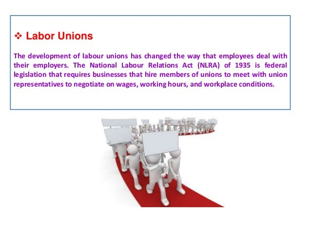 an introduction to the labour unions The nlrb is an independent federal agency enforcing the national labor relations act, which guarantees the right of most private sector employees to organize, to engage in group efforts to improve their wages and working conditions, to determine whether to have unions as their bargaining representative, to engage in collective bargaining, and .