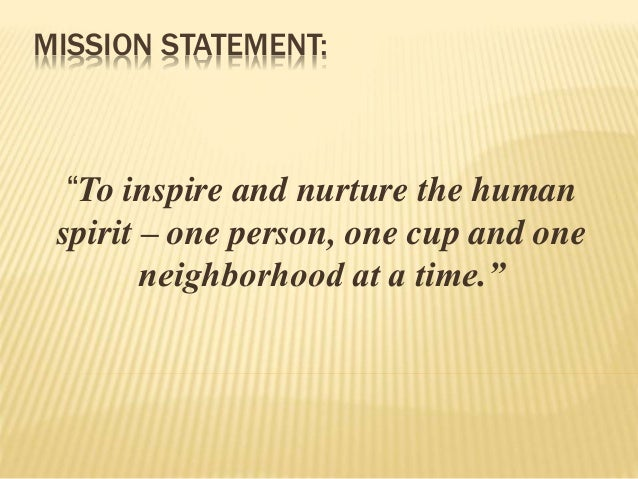 vision statement of dunkin donuts Mission statements:  dunkin' doughnuts doughnut world doughnut world sim and dif mission and vision: dunkindoughnutscom dunkin' donuts brands and menu offerings promise a strong.