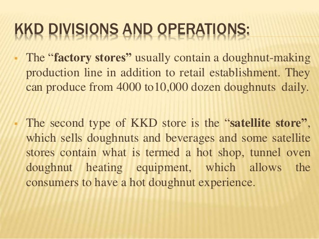 case of krispy kreme doughnut This case considers the sudden and very large drop in the market value of equity  for krispy kreme doughnuts, inc associated with a series of announcements in.