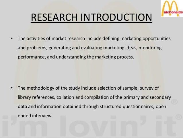 methodology of kfc