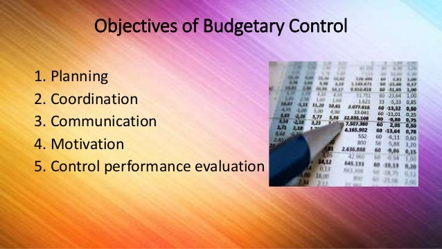 important are the behavioural aspect in a budgetary control system 1 importance of budgetary accounting systems based on external ex-ante control and system based on internal controls are dimming with modern technologies for budget preparation, it is important to know the forward costs of multi-year.