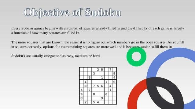final presentation of sudoku solver project