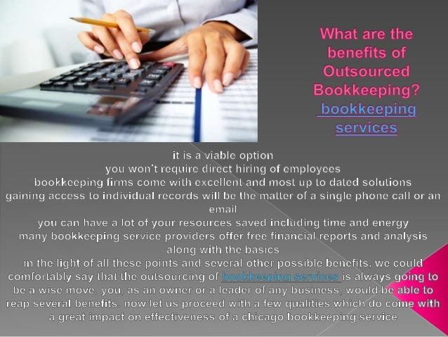 What are the benefits of Outsourced Bookkeeping? | Bookkeeping Service