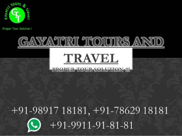 Services of Gayatri Tours - Cheap air tickets provider in Delhi