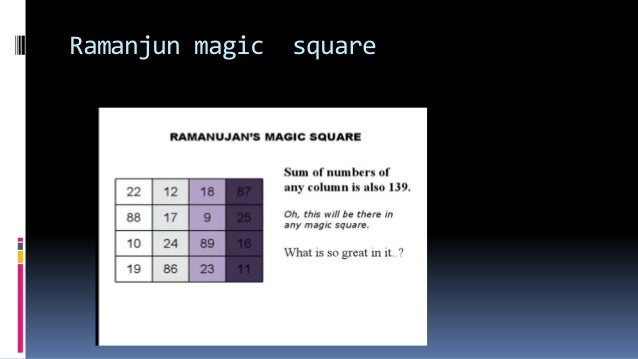 RAMANJUN the great mathmatician history and about the 1729