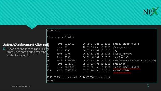 Basic Cisco ASA 5506-x Configuration (Firepower)