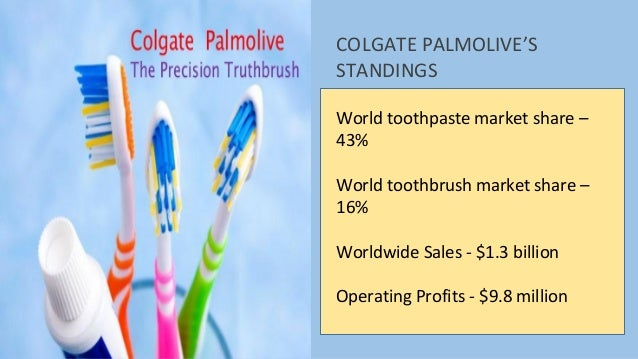 a case study on colgate palmolive Colgate-palmolive case study analysis 1 colgate-palmolive a global leader in the house hold and personal care products 2.