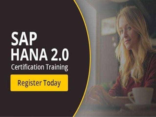 SAP HANA LIVE WEBINAR