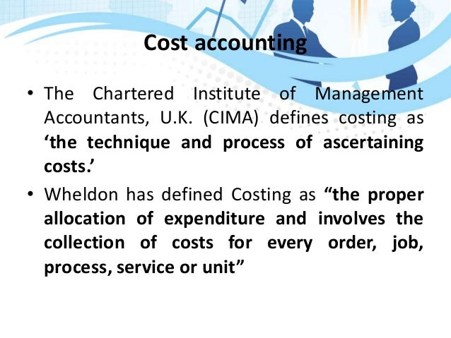 an overview of management accountants Foreword from andrew harding, fcma, cgma, chief executive – management  accounting and an overview of the research and consultation that led to the.
