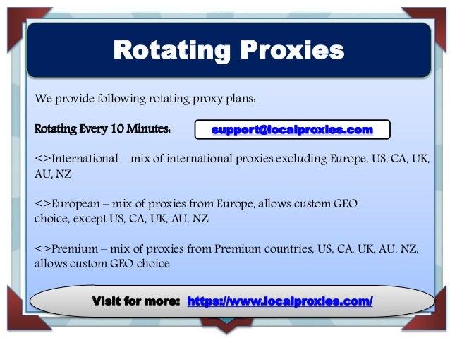 Superior Unblock Proxy Service Provider | Local Proxies