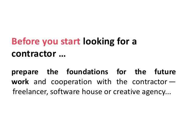 5 Tips&Tricks—How to collaborate with Creative Agencies or Software Houses? Slide 2
