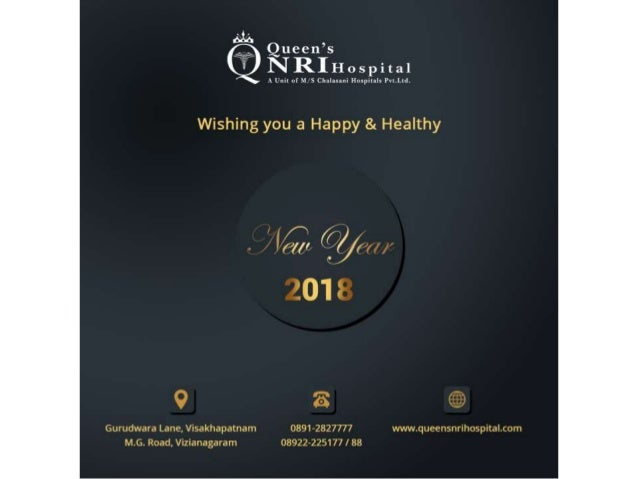Queen S Nri Hospitals Wishing You A Happy Healthy New Year 2018