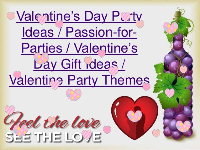 Valentine S Day Party Ideas Passion For Parties Valentine S Day G